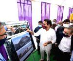 T'gana minister lays foundation stone for Gokaldas apparel factory