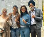 Taapsee Pannu's reply to questions on her voting right in Delhi