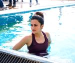 Taapsee Pannu's mantra: Suit up, smile up, show up