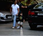 Taimur Ali Khan seen at Bandra