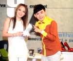 Angela Chang during a program in Taipei