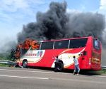 CHINA TAIPEI ACCIDENT COACH FIRE