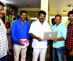Talasani Srinivasa Yadav Released Samidha Movie Logo