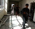 30 Afghan policemen killed in suicide car bombing