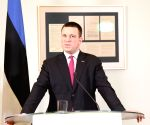 ESTONIA TALLINN PM LATVIA PM MEETING