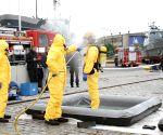 ESTONIA TALLINN RESCUE DECONTAMINATION EXERCISE
