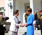ESTONIA TALLINN PRESIDENT PRINCESS BRITAIN MEETING