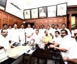 DMK leaders sworn as MLAs