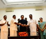 Swearing in ceremony of O. Panneerselvam