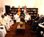 TNA delegation calls on PM Modi in Sri Lanka