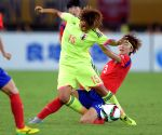 CHINA-WUHAN-FOOTBALL-EAFF EAST ASIAN CUP 2015-WOMEN-JAPAN VS SOUTH KOREA