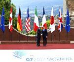 ITALY SICILY TAORMINA G7 OPENING CEREMONY