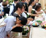 CHINA TAOYUAN BUS ACCIDENT VICTIMS FAMILIES