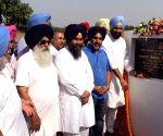 Tarn Taran Sahib: Inauguration of the first solar plant at Indo Pak Border