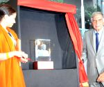 Ratan Tata unveils the bust of Professor Lord Kumar Bhattacharyya