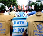 Demonstration against police atrocities