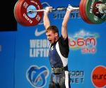 GEORGIA TBILISI WEIGHTLIFTING EUROPEAN CHAMPIONSHIP