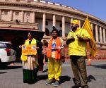 New Delhi:Parliament - TDP