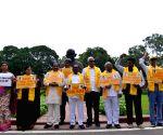 TDP MPs protest at Parliament