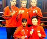 Indian boxers win 4 silver medals at Nation's Cup