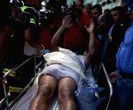 HONDURAS TEGUCIGALPA ACCIDENT EXPLOSION