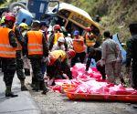 HONDURAS TEGUCIGALPA ACCIDENT COLLISION