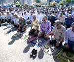 IRAN TEHRAN EID AL FITR PRAYER
