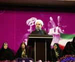 IRAN TEHRAN ROUHANI ELECTION RALLY