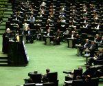 IRAN TEHRAN PARLIAMENT NEW MINISTERS