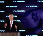 ISRAEL TEL AVIV ELECTIONS BENNY GANTZ