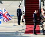 ISRAEL BEN GURION AIRPORT UK PRINCE WILLIAM VISIT