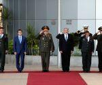 ISRAEL TEL AVIV RUSSIA DEFENSE MINISTER VISIT
