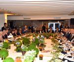 Tel Aviv (Israel): India - Israel CEOs Forum - Modi, Netanyahu