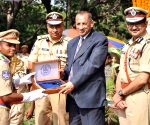 Passing out parade at Telangana State Police Academy