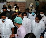 Telangana Minister Talasani Srinivas Yadav pays inspection visit to Osmania General Hospital