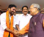BJP felicitates Maharashtra Governor designate Chennamaneni Vidyasagar Rao