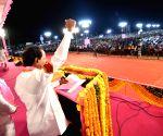 Karimnagar (Telangana): KCR's public rally