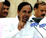 KCR's press conference