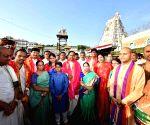 Tirupati (Andhra Pradesh): K. Chandrashekar Rao visits Tirupati Balaji Temple