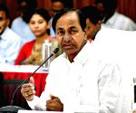 K. Chandrashekhar Rao chairs meeting of district collectors