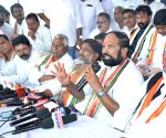 Uttam Kumar Reddy's press conference