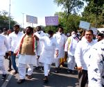 Free Photo: Telangana Congress leaders detained during protest in Hyderabad