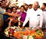 Warangal (Telangana): Telangana Dy CM pays respects to Telangana student killed in US