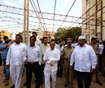 Preparations for the Telangana CM's iftar party