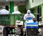 Free Photo: Telangana doctor turns driver to shift COVID victim's body