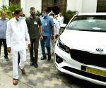 Free Photo:  Telangana gifts 32 Kia cars to Additional Collectors