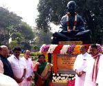 Telangana Governor pays tributes to Mahatma Gandhi on Martyrs Day