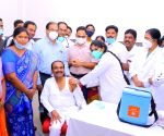 Covid vaccination underway at 93 centres in Telangana