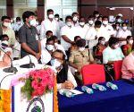 KT Rama Rao, Etela Rajender inaugurate KCR Eco Urban Park