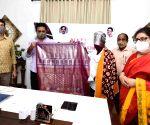 KT Rama Rao during National Handloom Day celebrations